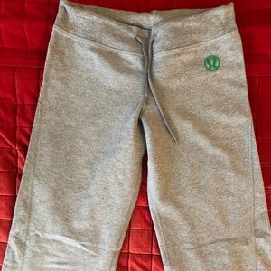 Lululemon  straight leg sweatpants